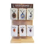 Pendant Display - Totem Stone and Arrowhead (pre-pack) (24/Display)