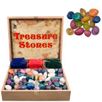 Treasure Box Display - Crackle Quartz Mix (11 lb)