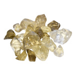 Semi-Tumbled Stone - Natural Citrine (1/2 lb)