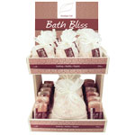 Himalayan Bath Bliss Salt Display - 2 Tier (pre-pack)