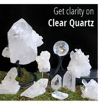 Browse by material, clear quartz
