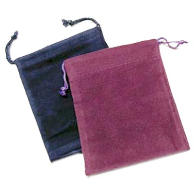 Velvet Gem Bags - Assorted Medium (12)