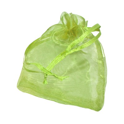 Organza Pouches - Ice Green - 3 x 4 inch (10)