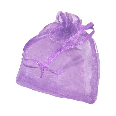 Organza Pouches - Purple - 3 x 4 inch (10)