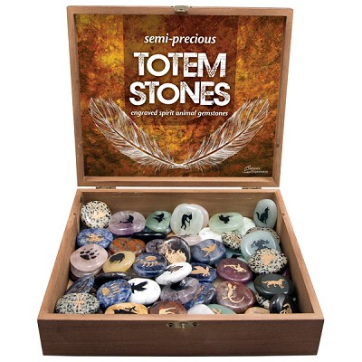 Totem Stones Display - Assorted (72/display)