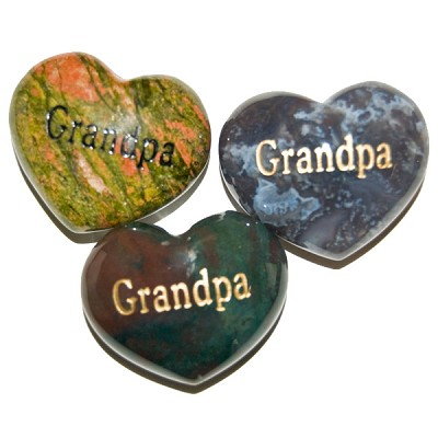Puffy Heart Gems (Engraved) - Grandpa (6)