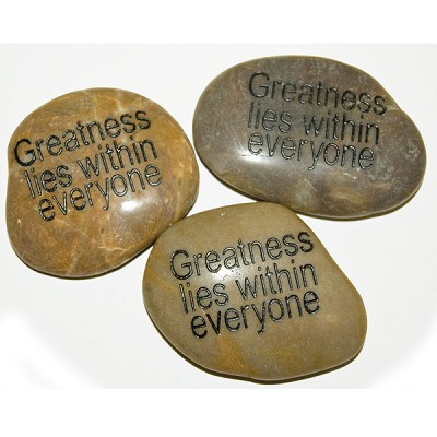 Inspiration Stones - Greatness lies within everyone (6)
