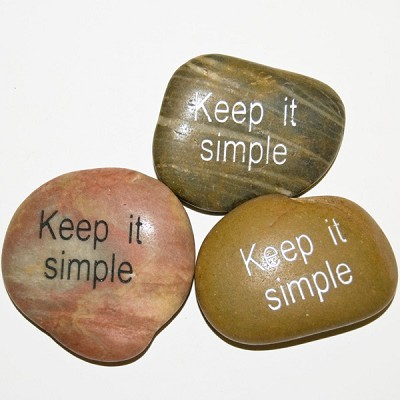 Inspiration Stones - Keep it simple (6)