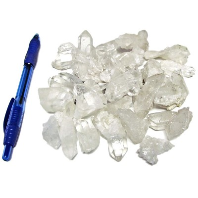Mineral and Fossil Treasures - Quartz Clusters (Size 0) (24 pcs)