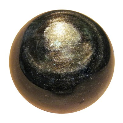 Gemstone Sphere - Gold Sheen Obsidian