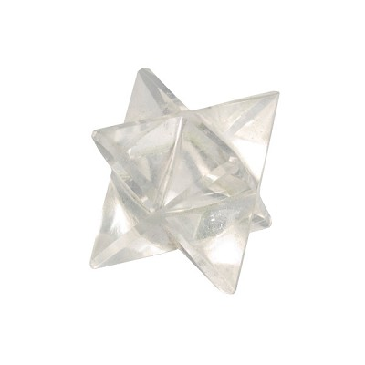 Merkaba Star - Clear Quartz