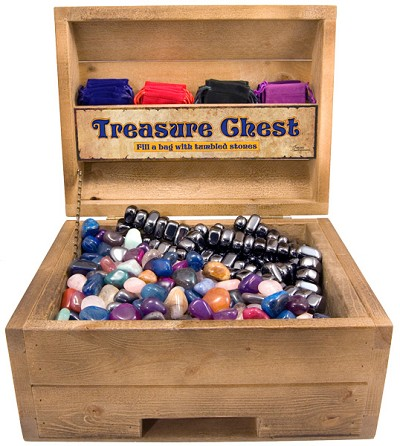 Treasure Chest - Stone (11 lb) / Magnetic (22lb)