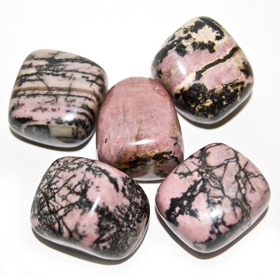Tumbled Stone - Rhodonite (1 lb)