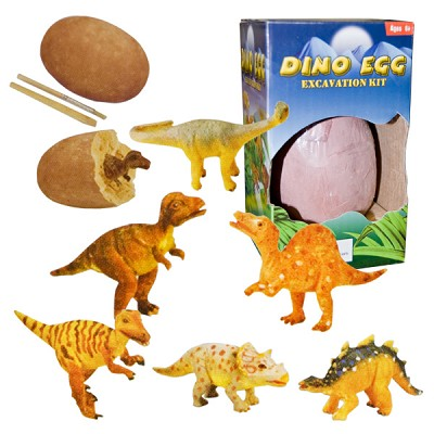 Dig-it-out Kit - Dinosaur Figurine in Egg (6)