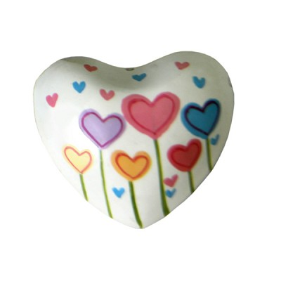 Harmony Hearts - White - Heart Flowers (6)