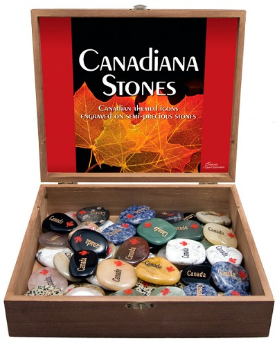Canada Stone Display - Assorted (50/display)
