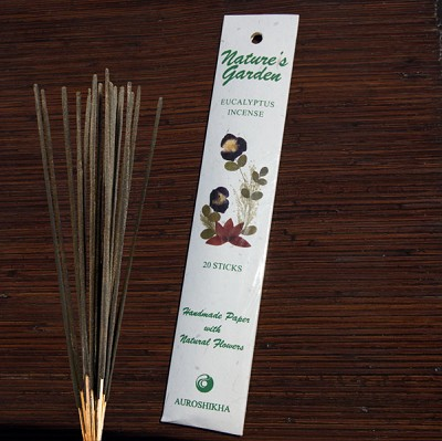 Natures Garden Incense Sticks - Eucalyptus (5)