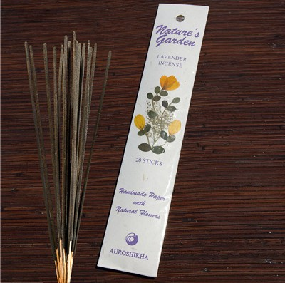 Natures Garden Incense Sticks - Lavender (5)