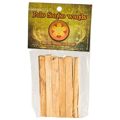 Palo Santo Natural Wood Incense (6/package)