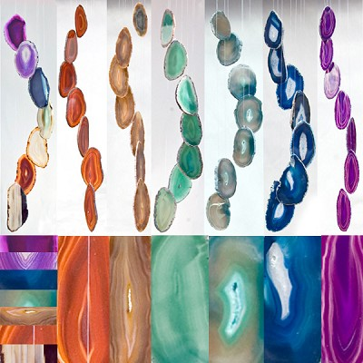 Agate Wind Chimes - (Large) Assorted (12)