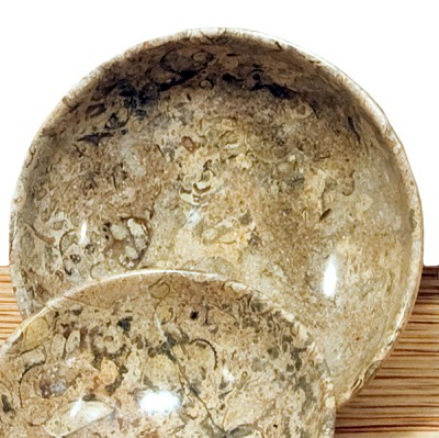 Bowl - Fossil Marble (5 inch) (2)
