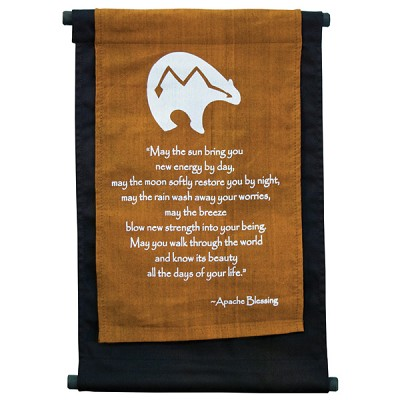 Mini Banner - Bear Apache Prayer
