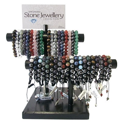 Stone Bracelet Display - 2 Tier (38 Display)