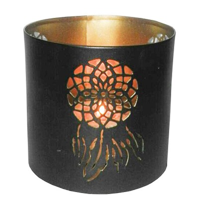 Tin Candle Holder - Dream Catcher