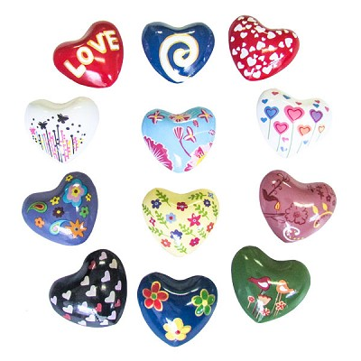 Harmony Hearts - Assorted (12)