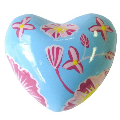 Harmony Hearts - Light Blue - Flowers (6)