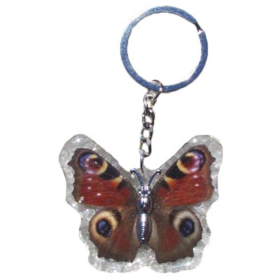 Insect Keychains - Red Butterfly