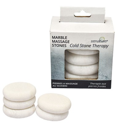 Massage Stone Therapy Set - Cold Stone Marble