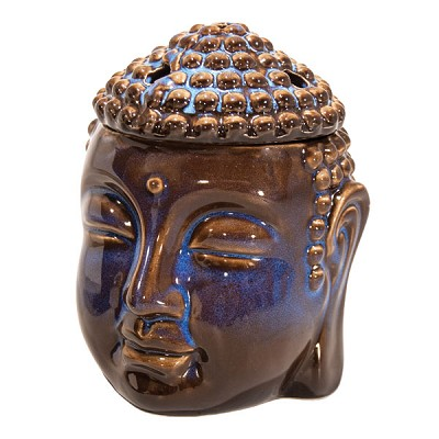Oil Heater - Buddha Head - Midnight Blue