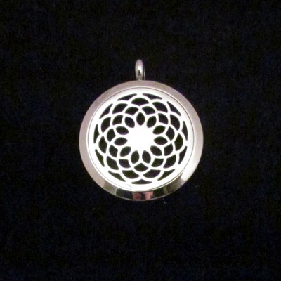 Aromatherapy Pendant - Flower of Life