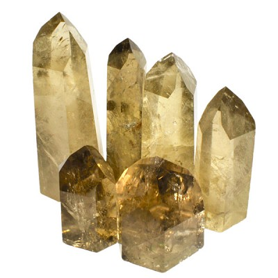 Polished Point Request - Natural Citrine - Brazil