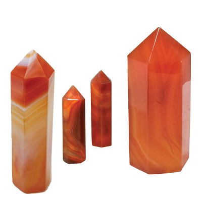 Polished Point Request - Carnelian