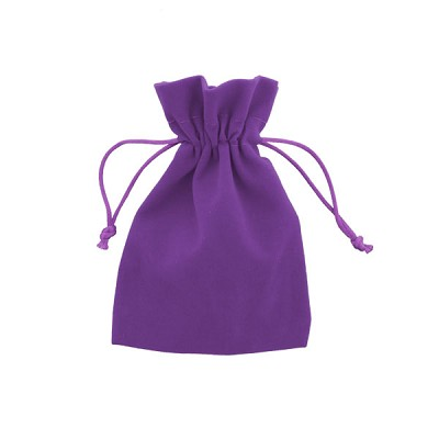 Velvet Gem Bags - Purple Small (12)