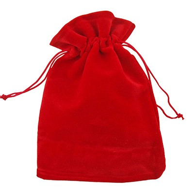 Velvet Gembags - Red Medium (12)