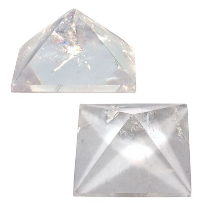 Pyramid Request - Clear Quartz