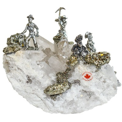 Miners on Quartz Cluster (2 - 4 Large miners)