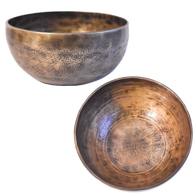 Singing Bowl - Handmade Etched