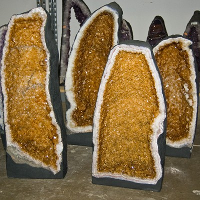 Decorator Crystal Request - Citrine Cathedral Specimens
