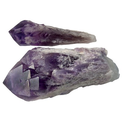Cathedral Amethyst Torch - Medium
