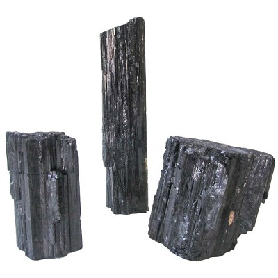 Decorator Mineral Request - Black Tourmaline Cut Base
