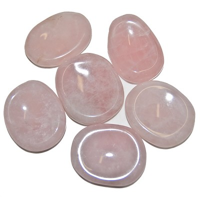 Thumbstones - Rose Quartz (6)