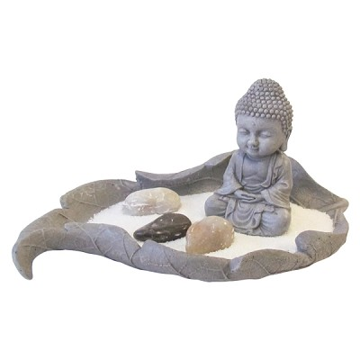Zen Garden - Buddha in Leaf (mini)