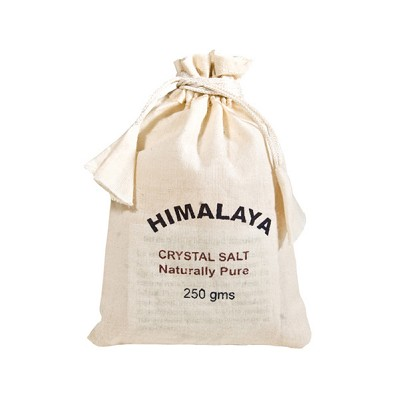 Himalayan Salts 250 g Cotton Bag (24)
